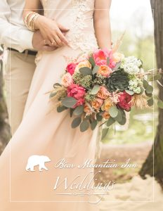 Bear Mountain Wedding Brochure Cover Art