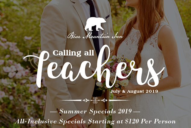 Calling All Teachers - All-Inclusive Specials Starting at $120 per person