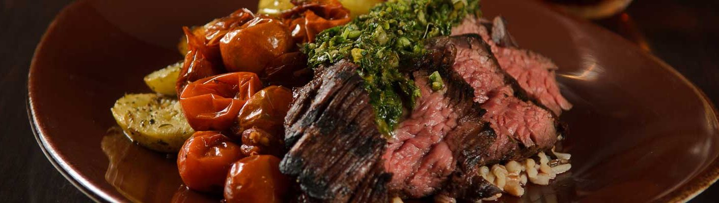 steak entree image
